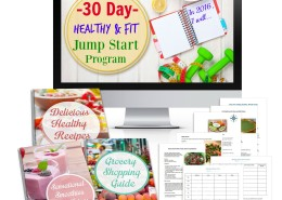30 Day Healthy & Fit Jump Start Program 2016