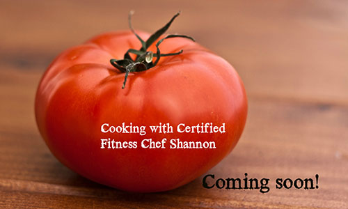 Cooking with Certified Fitness Chef Shannon section 4